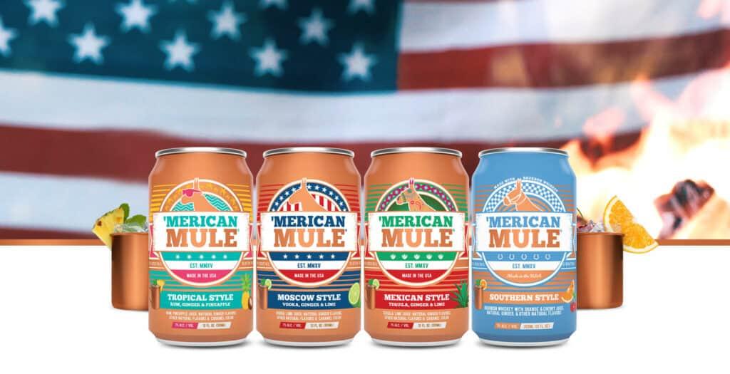 Merican Mule canned