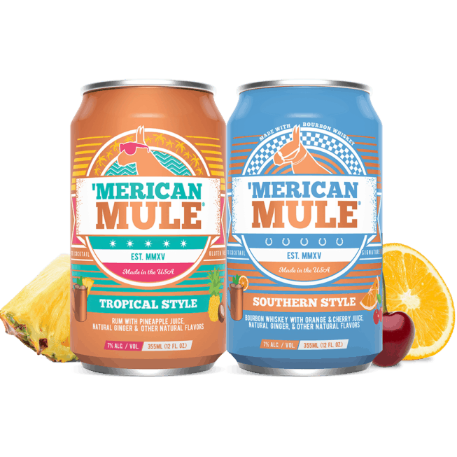 Southern Style and Tropical Style in a Can