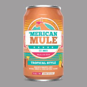 Merican Mule Tropical Style
