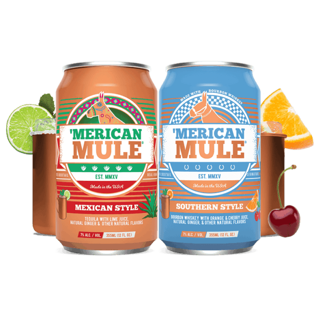 Mexican Style and Southern Style in a Can