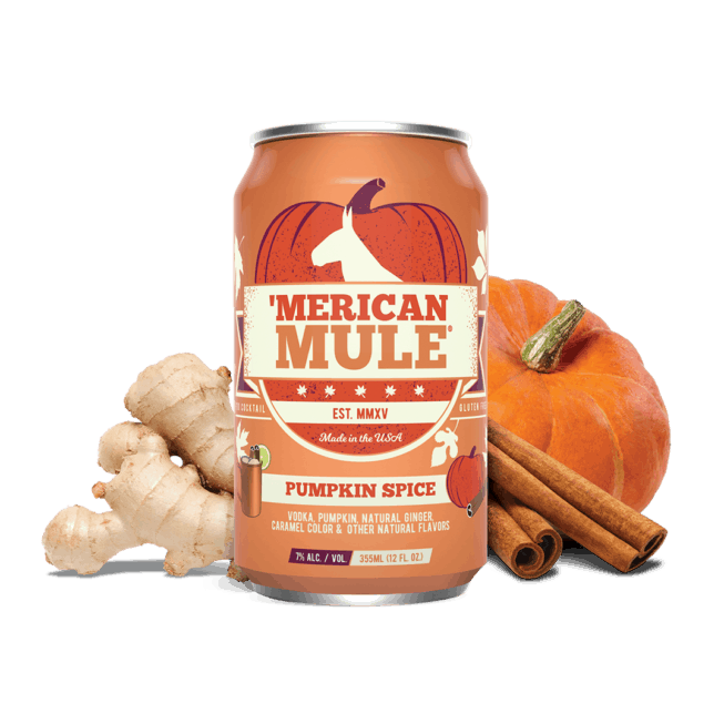 Pumpkin Spice in a Can