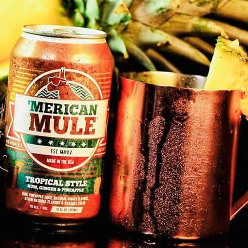 Merican Mule Cocktail