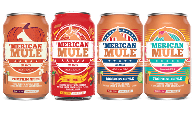 Merican Mule seasonal pack