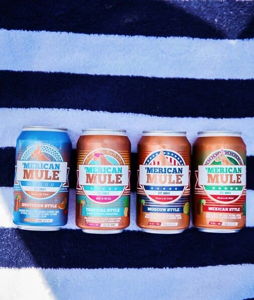 Moscow Mules Cans